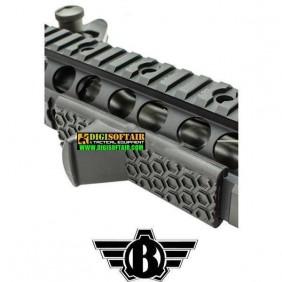 Curved CQB Mag Grip nera CAA impugnatura ergonomica anteriore