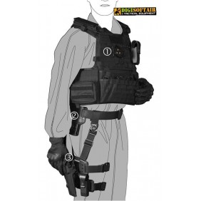 Silenziatore Royal per fucili AMOEBA E ARES SIL03T