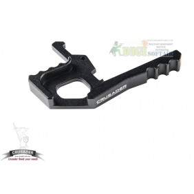 AMBIDEXTROUS TACTICAL CHARGING HANDLE LATCH BLACK Crusader by