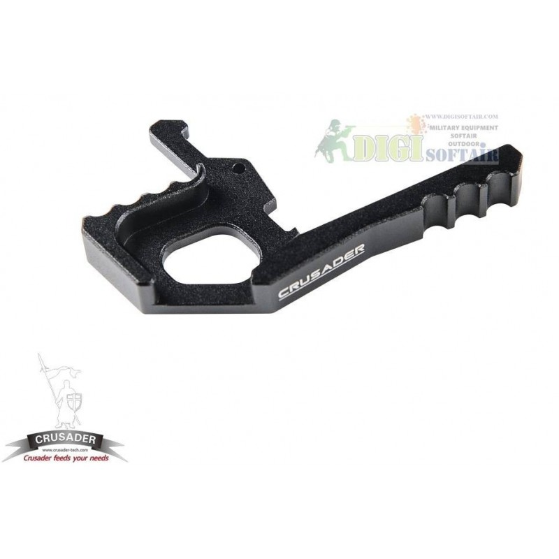 AMBIDEXTROUS TACTICAL CHARGING HANDLE LATCH BLACK Crusader by VFC