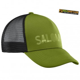 Salomon SUMMER LOGO CAP M GREEN
