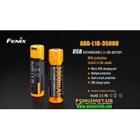 FENIX ARB-L18-3500U batteria ricaricabile 3500mAh