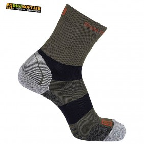 QUEST MID salomon olive tecnical socks