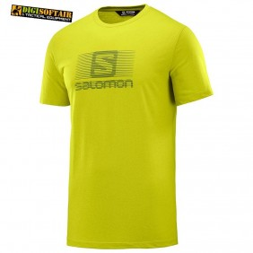 BLEND LOGO SS TEE M yellow salomon