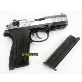 WE Beretta PX4 storm silver metal slide