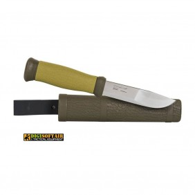 MORA Outdoor 2000 olive green Stainless Steel
