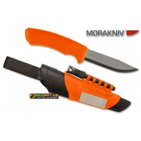 MORA Bushcraft Survival Orange Stainless Steel
