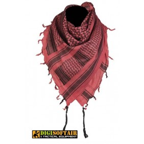 RED/black SHEMAGH SCARF Miltec