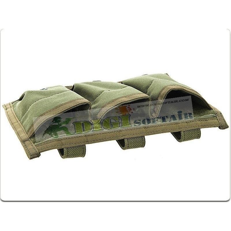 FLYYE RAV Triple M4M16 Mag Pouch RG