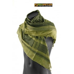 OD/BLACK SHEMAGH SCARF OPENLAND NERG