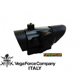 MICRO T1 DOT RED GREEN WITH SUNSHADE MOUNT Black Vega Force Company