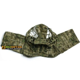 MONGOOSE - GHILLIE SNIPER HOOD - BASIC - A-tacs fg