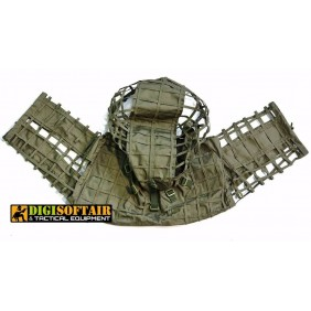 MONGOOSE - GHILLIE SNIPER HOOD - Light - Ranger green