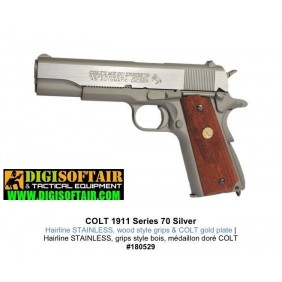 Colt 1911 Rail Gun CO2 Silver KWC