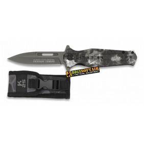 K25 18323-A Tactical pocket knife FOS black phyton