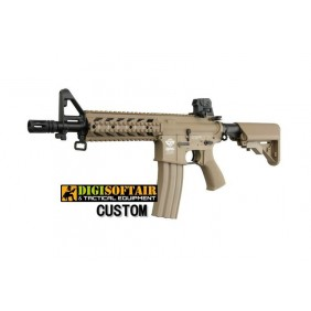 G&G CM16 RAIDER DESERT 27bb/sec 0,94j Digi Softair Custom