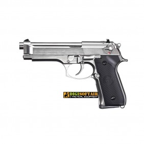 WE M92 Silver gen 2 FULL METAL gbb beretta model