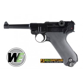 LUGER P08 SHORT BLACK WE Pistola a gas