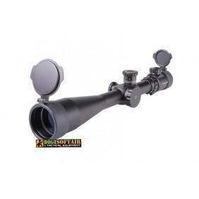 AIM-O 3.5-10x40E-SF Scope - Black [AMO-10-017498]