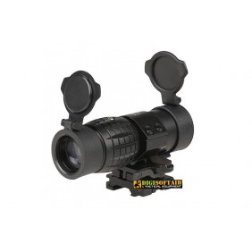 Magnifier 3x35 black theta optics  THO-10-011610