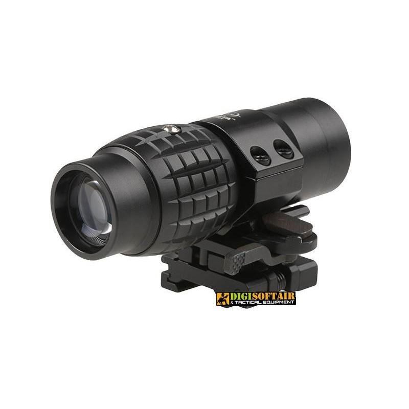 Magnifier 3x35 black theta optics THO-10-011610