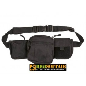 BLACK TACTICAL FANNY PACK