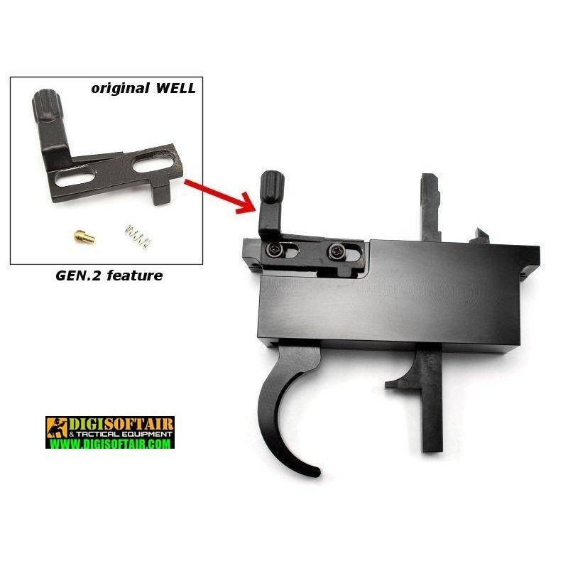 CNC trigger set for L96 rifles MB01,04,05,08,14..., Gen.2