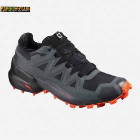 Speedcross 5 GTX Black urban chic cherry tomato Salomon