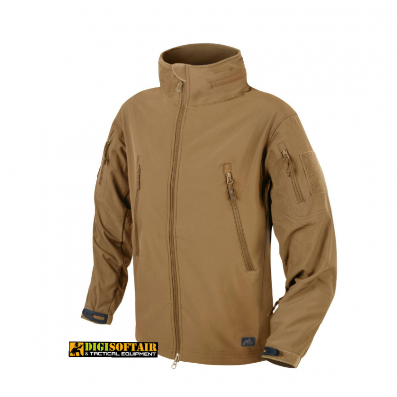 GUNFIGHTER Jacket Shark Skin WINDBLOCKER COYOTE BROWN Helikon Tex