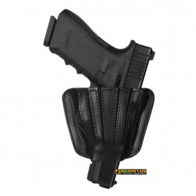 Vega holster Double uses leather half holster Beretta 98