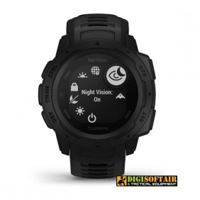 GPS Watch Instinct Tactical Edition black GARMIN Italian worranty