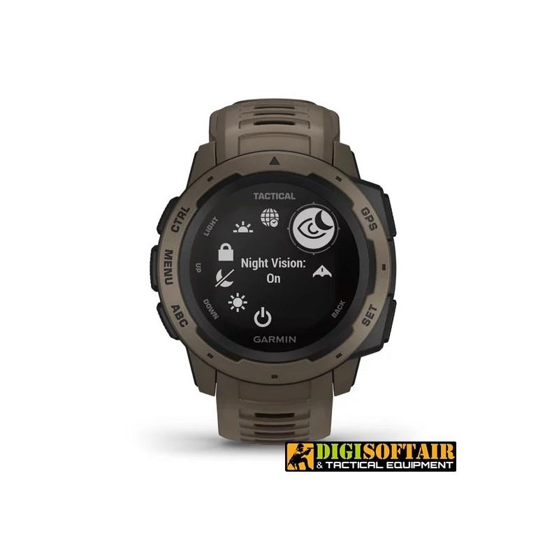 GPS Watch Instinct Tactical Edition Coyote tan GARMIN Italian