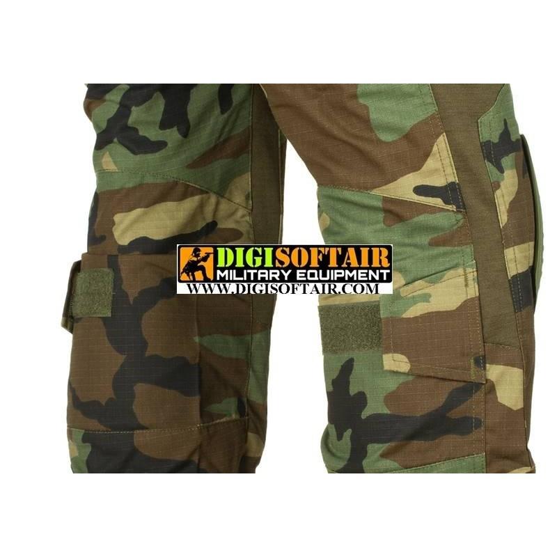 Predator Combat Pant Woodland invader Gear