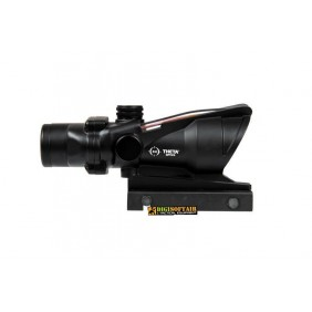 RedFiber 4x32 Scope Black acog replica Theta optics THO-10-026754