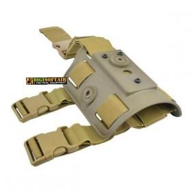 Adapter leg holster wosport cytac compatible tan