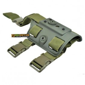 Adapter leg holster wosport cytac compatible olive