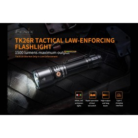 Fenix TK26R Tactical Flashlight 1500 Lumens