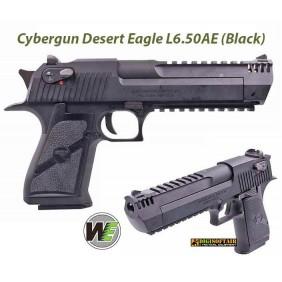 WE Black Desert Eagle gas blowback official Cybergun license