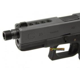 WE pistols silencer adaptor short black 2459