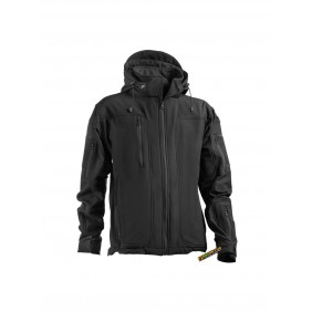 OPENLAND TACTICAL SOFTSHELL JACKET Black
