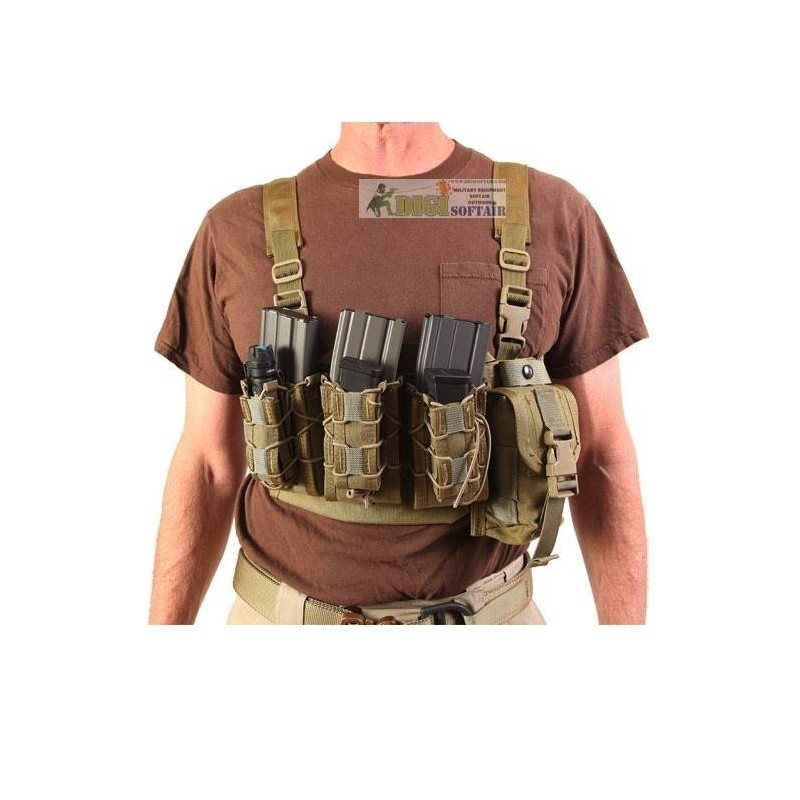HSGI AO chest rig Coyote brown