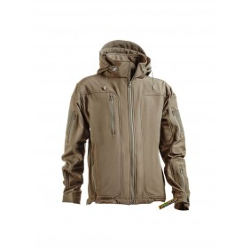 OPENLAND TACTICAL SOFTSHELL JACKET Coyote Tan