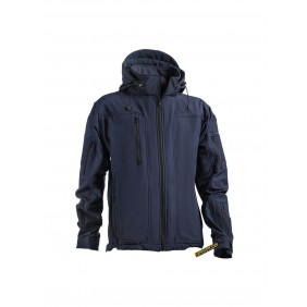 OPENLAND TACTICAL SOFTSHELL JACKET Navy blue