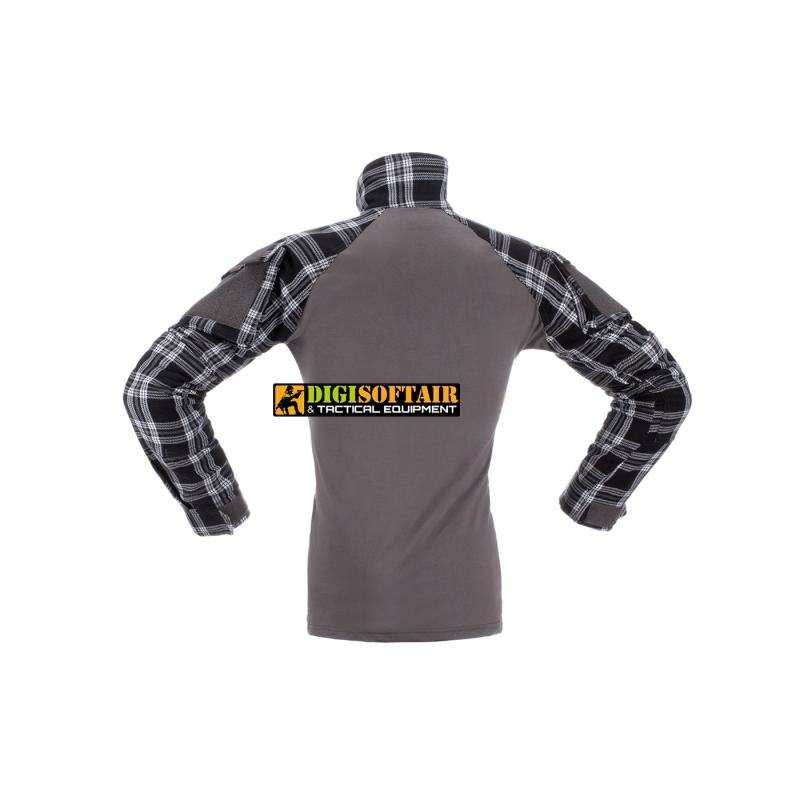 Flannel Combat Shirt Invader Gear black