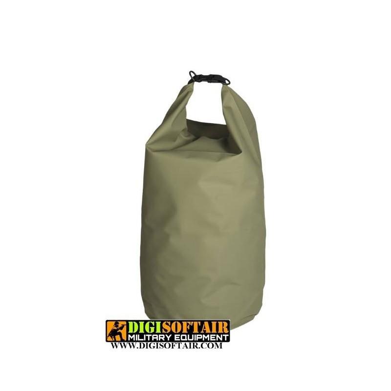 sacca stagna 50 litri verde Miltec