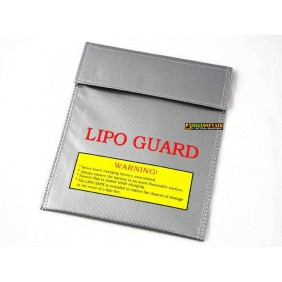 Lipo safety-bag 18x22 cm Pirate arms