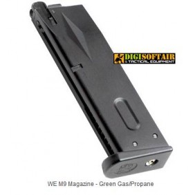WE beretta M92 M92A1 green gas magazines