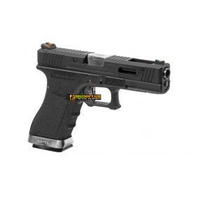 WE modello glock G17 Custom G FORCE series black PISTOLA