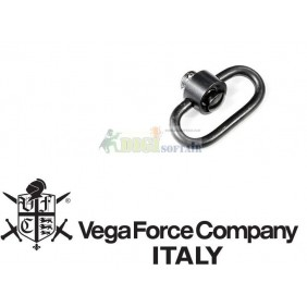 ANELLO vfc sgancio rapido CINGHIA compatibile kac pdw KAC TYPE PUSH BUTTON SWIVEL