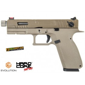 EVOLUTION KP-13 full auto CUSTOM DESERT metal slide